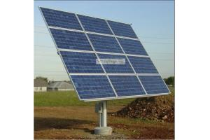 Wattsun AZ-125 Solar Tracker for 9 Sharp 175W (NT-R5E1U) Panels